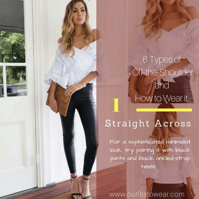 afa29c72fd5 6 Types of Off the Shoulder Style and How to Wear it – Outfits to Wear